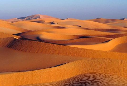 il deserto a dubai
